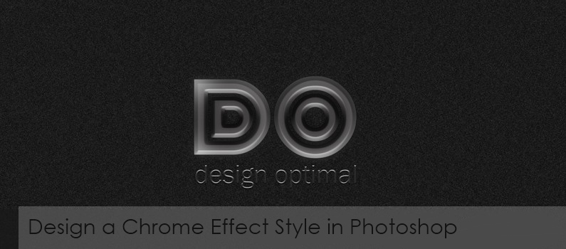 How to Design a Chrome Effect Style in Photoshop