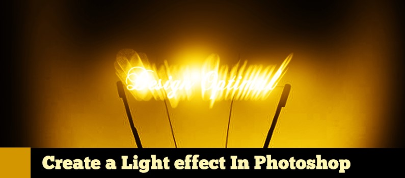How to Design a Light Effect in Photoshop
