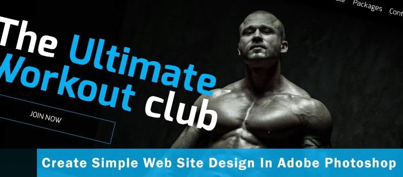 How to Create a Simple Web Site Design