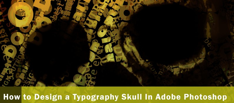 How to Design a Typography Skull