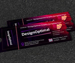 How to Create Professional Ticket Design in Photoshop