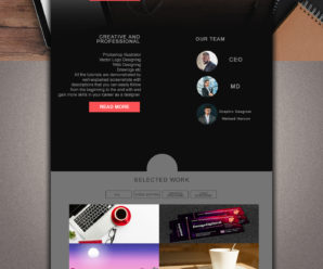How to Design Web Home Page in Photoshop