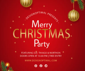 How to design Christmas Party Flyer in Adobe Illustrator