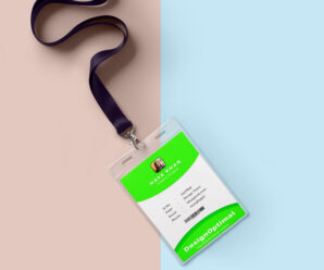 How to design Simple Company ID Card in Adobe Photoshop